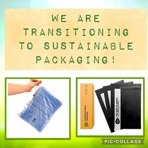 🍃 100% Compostable and Biodegradable Packaging!
